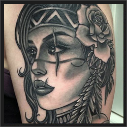 Tattoo Artist Ray Alfano
