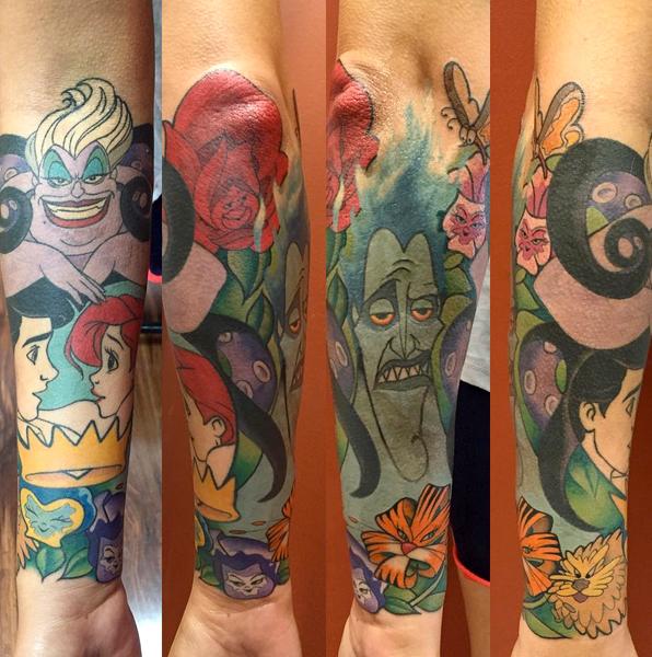 Top princesas da disney images for pinterest tattoos for Princesas disney tattoo