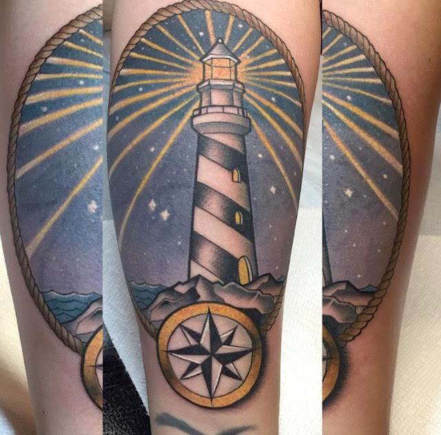Lighthouse American Traditional Tattoo: Jaclyn Huertas, Tattoo Artist